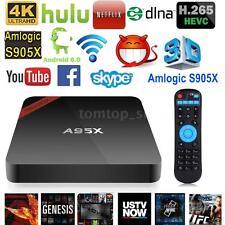 NEXBOX A95X 4K S905X Quad Core Android 6.0 Smart TV BOX WiFi Stream
