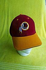 "NEW W/STICKERS! NFL WASHINGTON REDSKINS RED CAP/HAT! 2.5"" EMBROIDERED EMBLEM!"