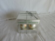 Little Miracles by Ruth Morehead Hallmark Ball Ornaments set of Four