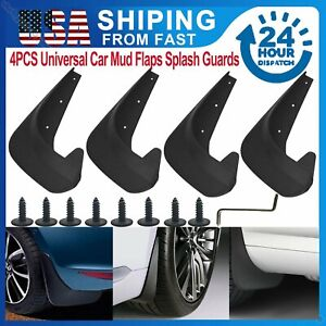 Car Mud Flaps Splash Guard Fenders for Front Rear Auto Accessories Universal Fit