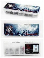 28Pcs  Demon Killer Kanthal 7 in 1 Clapton Staple Alien Pre-Built Coils RBA RDA