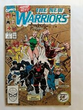 Collectible Comic. The New Warriors Marvel Comic Book No. 1.Vol.1 July 1990.