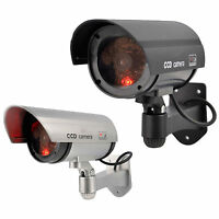 Outdoor Dummy Fake LED Flashing Security Camera CCTV Surveillance