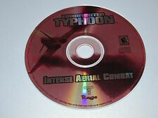 Eurofighter Typhoon Intense Aerial Combat PC With Manual