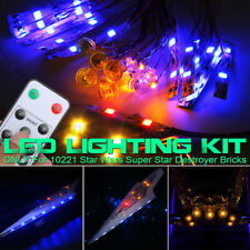 LED Licht Beleuchtung + Remote Kit Für LEGO 10221 Star Wars Super Star Destroyer