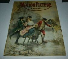 MOTION PICTURE CLASSIC  MAGAZINE march 1916  vintage Movie Magazine