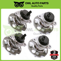 4PCS  REAR Wheel Hub Bearing Assembly for Highlander RX330 ABS FWD 512282 512283