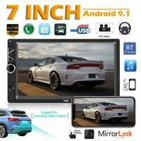 A3 Double 2DIN 7 inch Car Stereo Android 9.1 Bluetooth GPS Navi Radio Head Unit