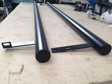 SWB VW T4 MATT black powder coated side bars easy fit