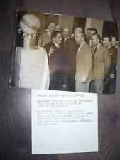 PHOTO DE PRESSE 1937 PAVILLON DE L'AIR A L'EXPOSITION INTERNATIONALE AVION DAMAS
