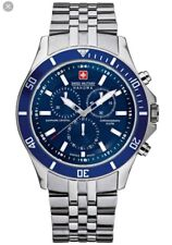 Swiss Military Hanowa Men's Flagship Blue Dial 6-5183.04.003 Watch  RRP £249