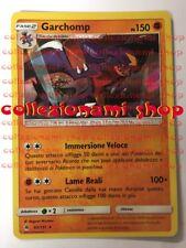 62/131Garchomp - RARA HOLO FOIL - Apocalisse di Luce - CARTA IN ITALIANO