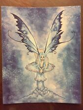 "AMY BROWN FAIRY STICKER-4 4""x5"""