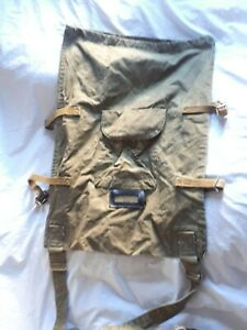 Vintage Russian Army military paratrooper's backpack, USSR era period.