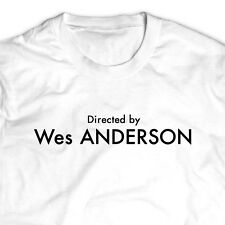 Directed by Wes ANDERSON White Tumblr T-Shirt