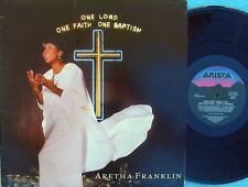 Aretha Franklin ORIG OZ Promo 2LP One lord one faith NM '87 Arista Soul Gospel