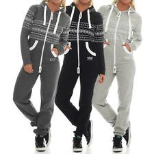 Finchgirl Azteken Muster Damen Jumpsuit Overall Jogging Training Anzug Einteiler