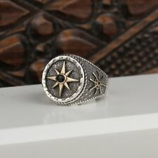 Handmade Pure 925 sterling SILVER Star Ring wedding jewelry w gift Box RRP £40