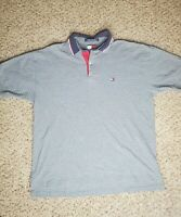 Tommy Hilfiger Mens Size Medium Short Sleeve Cotton Polo Shirt