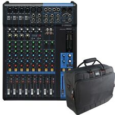 Yamaha MG12 12-Channel Mixing Console with Gator Mixer Bag +Picks