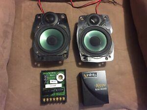 """Old School Infinity Kappa 40cs """"4 2-Way Component Speakers"""