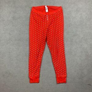 Old Navy Women's Sleepwear Pants Lounge XL Polka Dots Red White Cotton X-Large