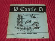 "Background Sound Effects - F C Judd   - Castle  BGX-1  EX   7"""