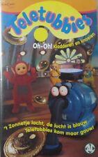 TELETUBBIES- OH-OH! KLADDEREN EN KNOEIEN  -  VHS