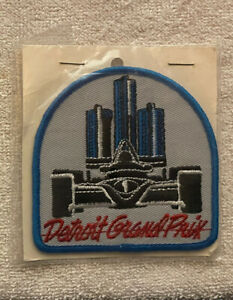 Rare Detroit Grand Prix F1 Auto Car Racing Cloth Jacket Patch New Unopened Packg