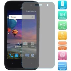 Premium Thin [Real Tempered Glass] Screen Protector Guard for ZTE Citrine LTE