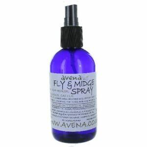 Fly Midge Tick Flea 250ml Natural Spray Safe Kind Pets Horses Dogs Cat Repellent