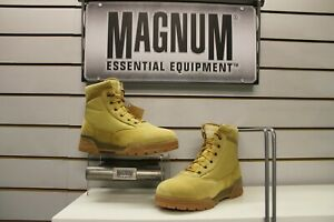 Magnum Classic Mid Wheat Suede / Nylon Army / Combat Boots UK Size 7 EU 41