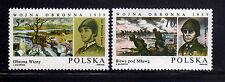 POLONIA/POLAND 1985 MNH 2692/2693 WW II Battles