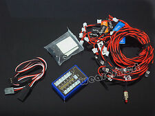 12 LED RC Car Flashing Light System LE858 For RC Truck 1/10 Car Body