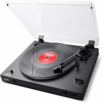 ION Audio Fully Automatic Belt-Drive Wireless Streaming Turntable | PRO200BT