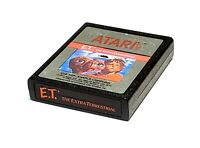 E.T. The Extra-Terrestrial (Atari 2600, 1982) Cart Only (Tested)