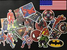 25 Pcs/Lot Stickers MARVEL Avengers Super Hero DC For Car Laptop Skatboard Decal