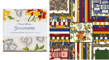 "SAVONNERIE 5"" Charm Pack by Moda Rare Fabric Squares for Quilting Crafts"