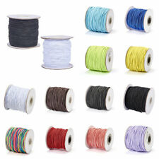 Lady-Muck3: 1mm  Round Elastic Cord, with Nylon Outside and Rubber Inside.
