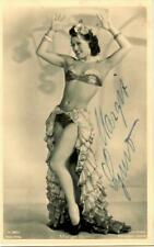 Margit Symo Ross A 2985/1 signiert, Autogramm  ( Tänzerin, tanzen )