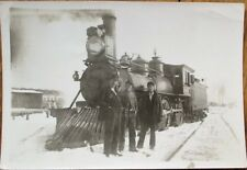 Pennsylvania Railroad Locomotive in Indianapolis, IN 1898 Photograph / Photo RR