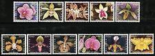 Laos Lao 2003 Orchideen Orchids Blumen Flowers Blüten Blossoms 1870-80 MNH