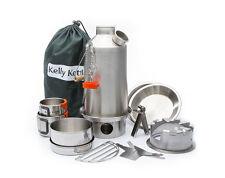BASE CAMP Kelly Kettle® ULTIMATE KIT (Stainless Steel 1.5Lt)