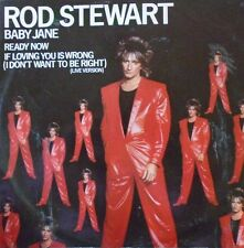 "ROD STEWART - Baby Jane ~ 12"" Single PS"