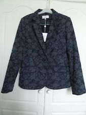 BNWT CC Country Casuals blue embossed jacket size 12