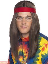 f00b99753847fe Hippy Man Kit 60s Groovy Hippie Adult Mens Smiffys Fancy Dress Costume  Accessory