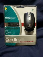 NEW Logitech Cordless Optical Mouse for Notebooks,