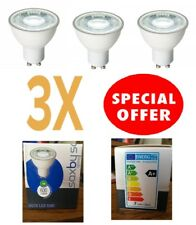 Saxby GU10 LED SMD 7 W Luz blanco Lámpara Bombilla 6000K Lm600.A+ haz de 38 grados.