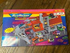 Excellent Sealed NIB Micro Machines Hiways & Byways Service City 1993 Galoob