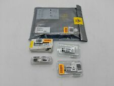 Open Box Lot of 8 Transceiver Modules | 4 HPE 10G & 4 Finisar 10G -AS1299